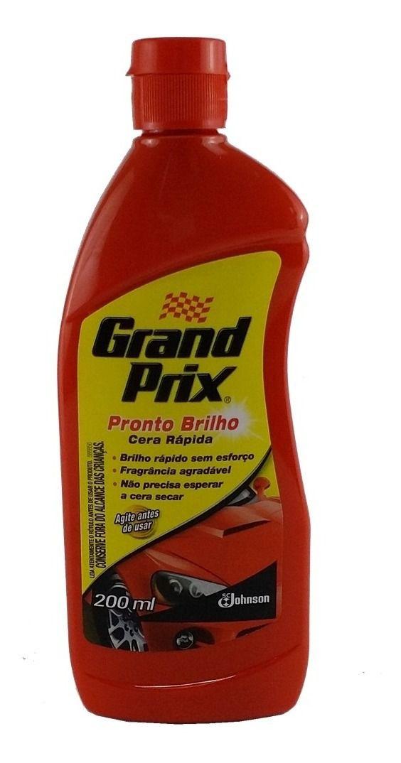 Cera Liquida Rápida Grand Prix Pronto Brilho 200ml