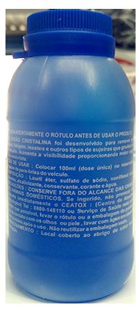 Detergente Limpa Vidros Brix 100ML