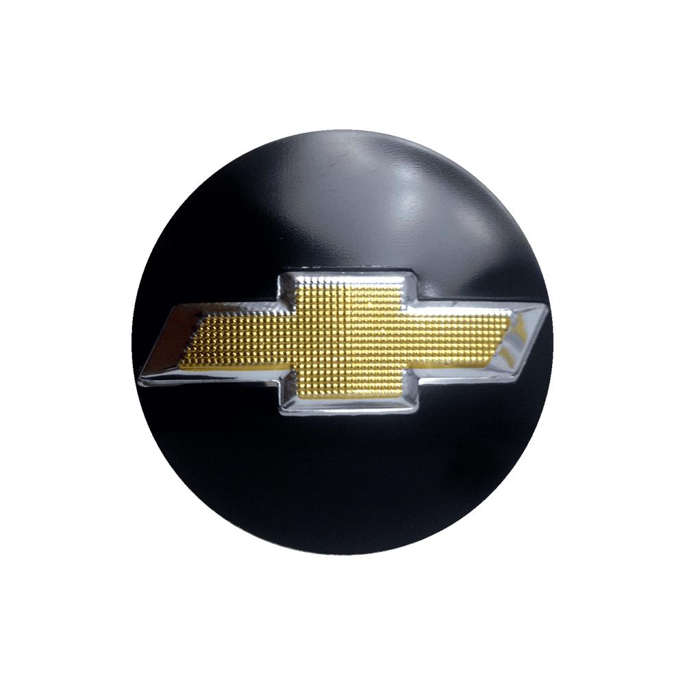 Emblemas Resinado Chevrolet Preto