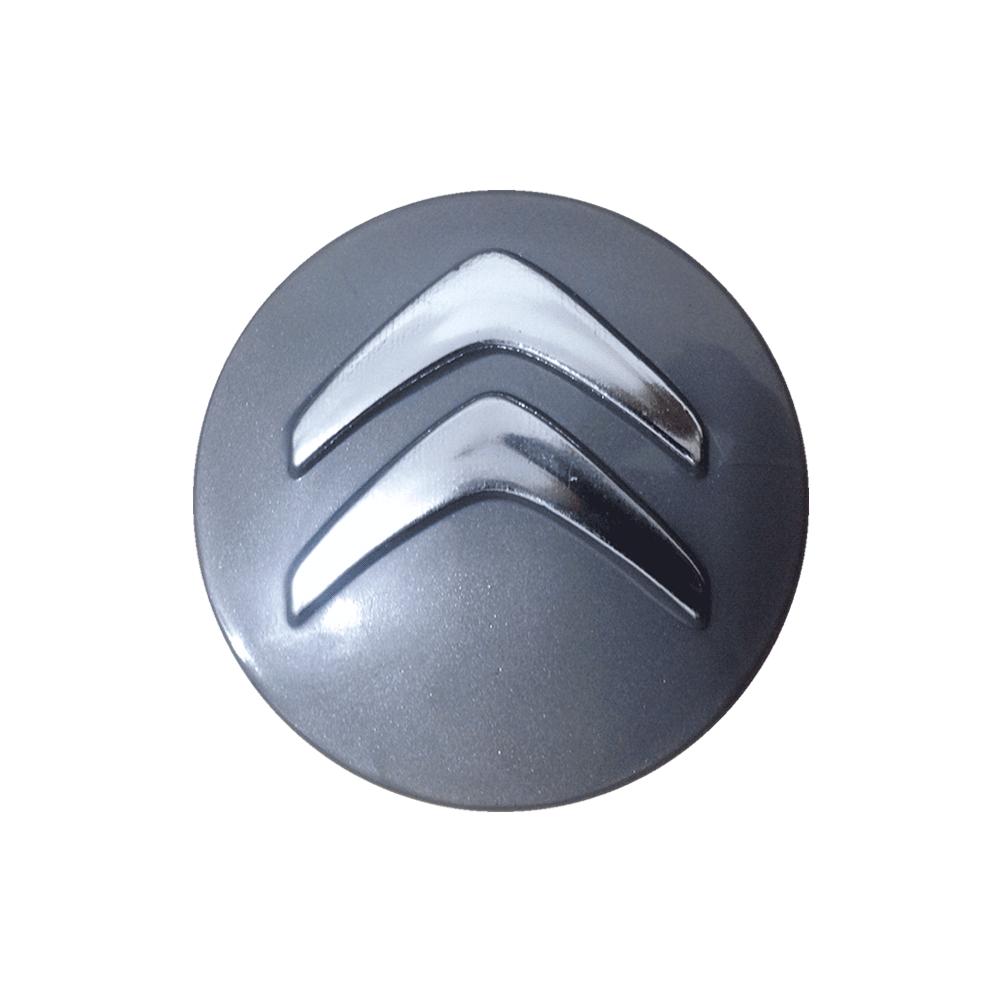 Emblemas de resina Citroen Prata -