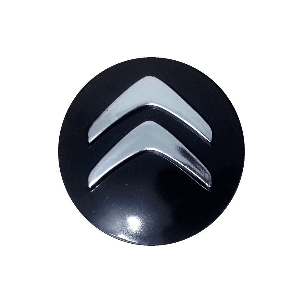 Emblemas de resina Citroen Preto -