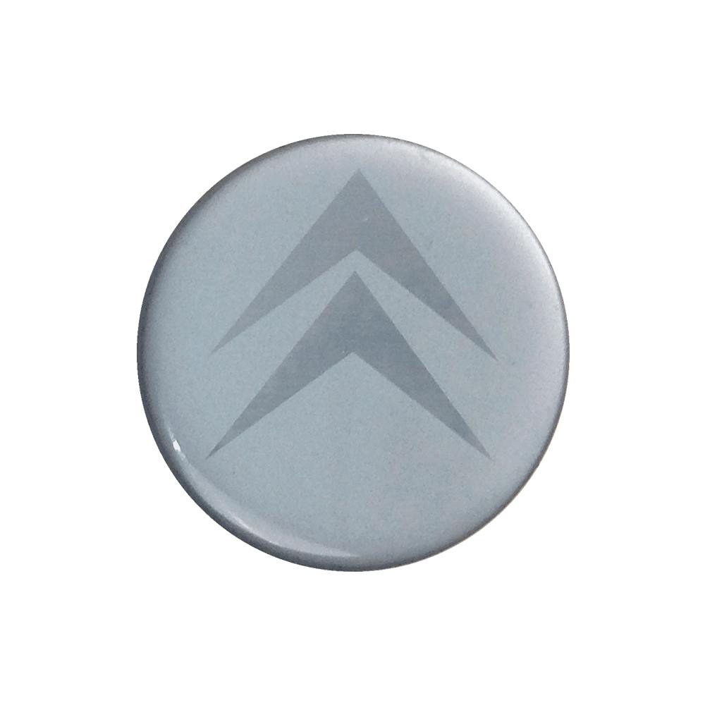 Emblemas  Resinado Citroen Prata