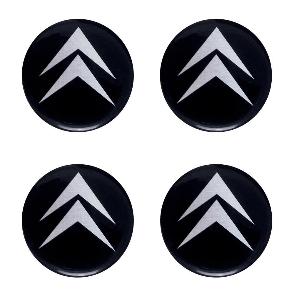 Emblemas  Resinado Citroen Preto