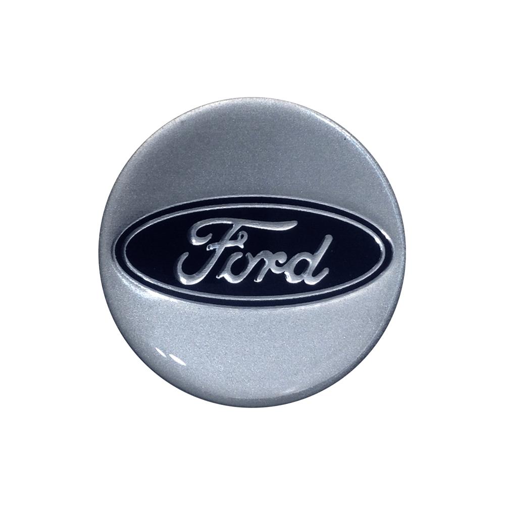 Emblemas Resinado Ford Prata