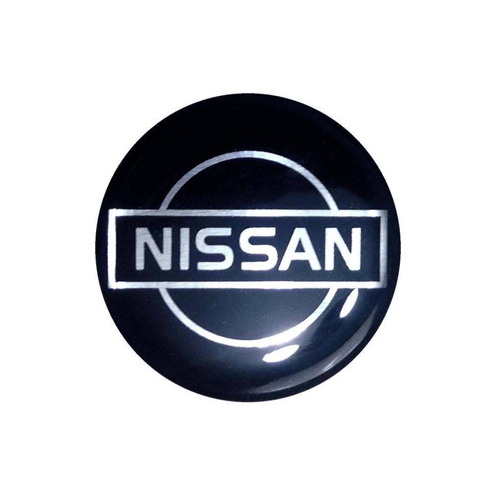 Emblemas Resinado Nissan Preto