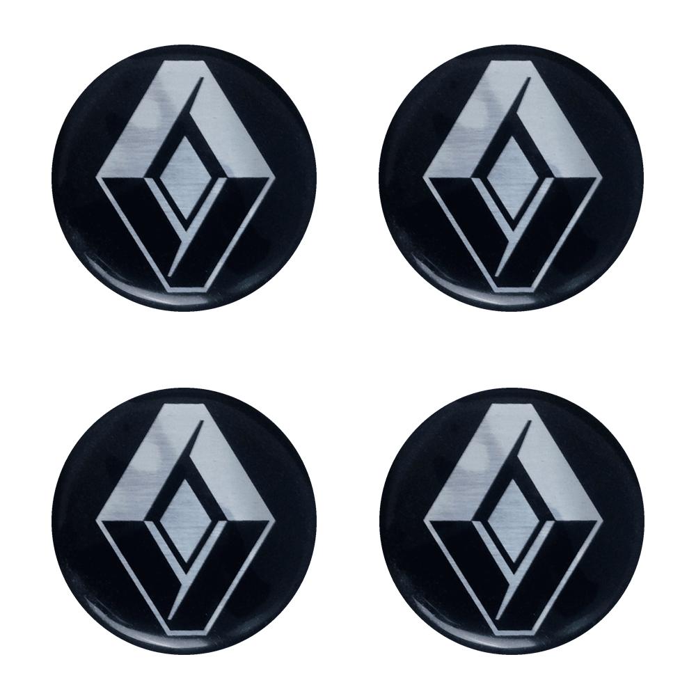 Emblemas Resinado Renault Preto