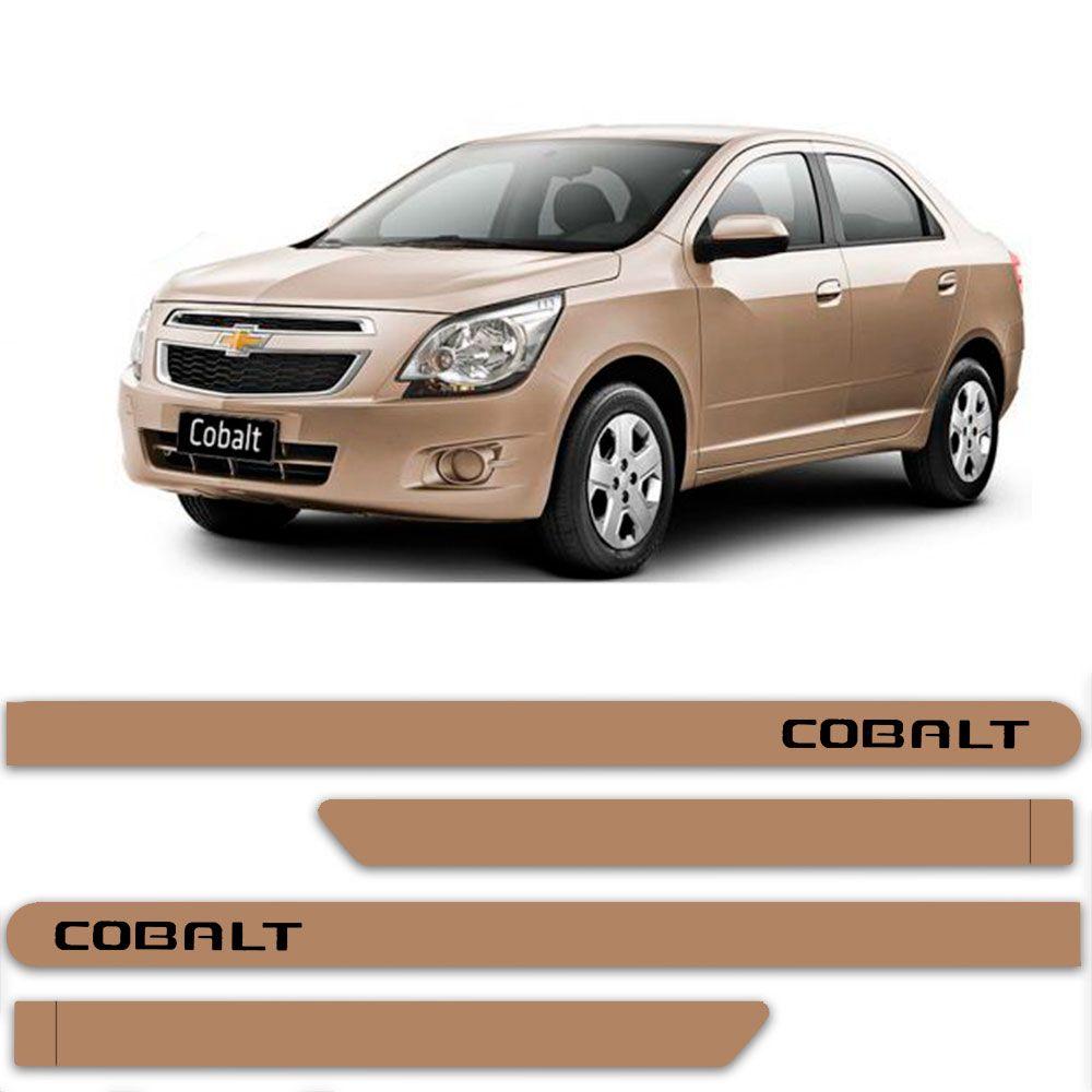 Friso Lateral Personalizado Para Chevrolet Cobalt - Todas As Cores