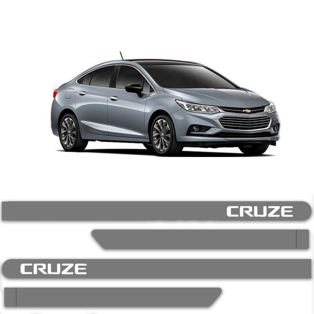 Friso Lateral Personalizado Para Chevrolet Cruze - Todas As Cores