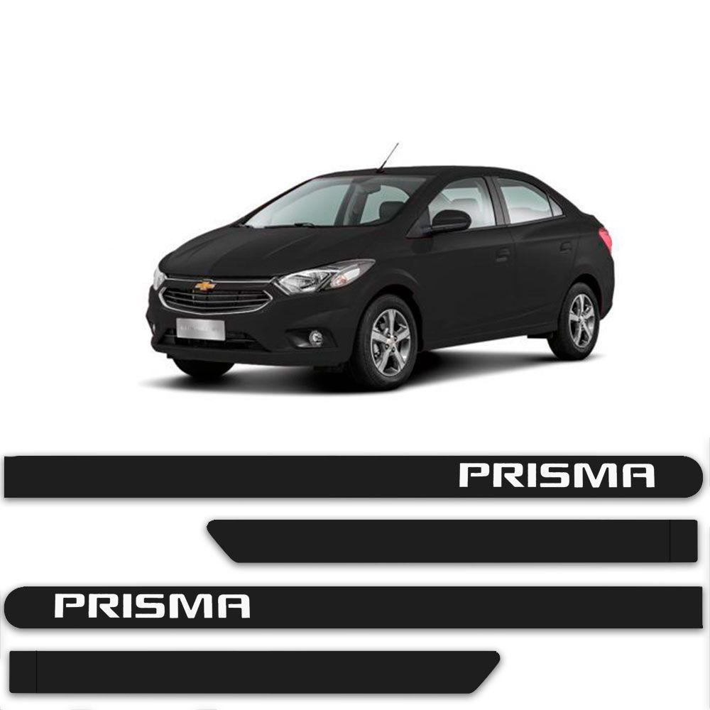 Friso Lateral Personalizado Para Chevrolet Prisma - Todas As Cores
