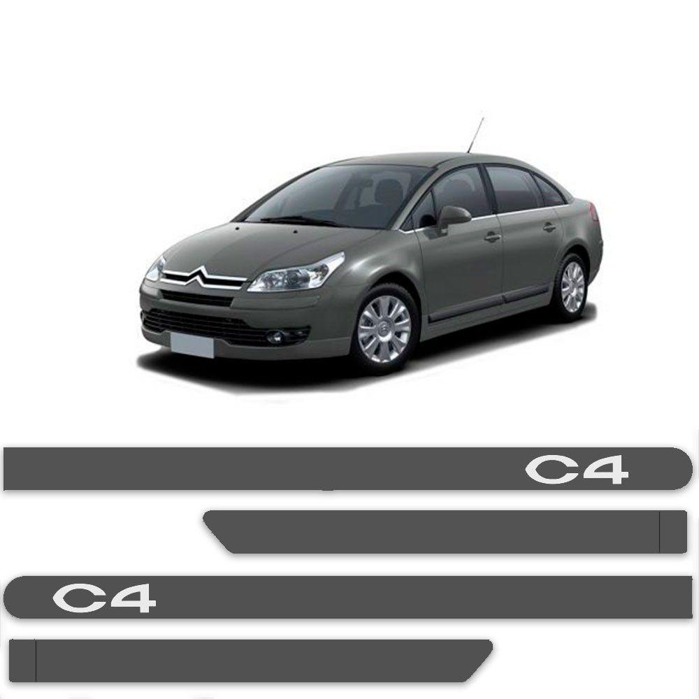 Friso Lateral Personalizado para Citroen C4 - Toda as Cores