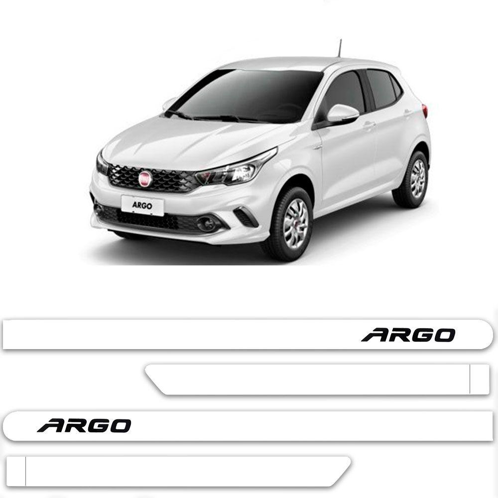 Friso Lateral Personalizado Para Fiat Argo - Todas As Cores