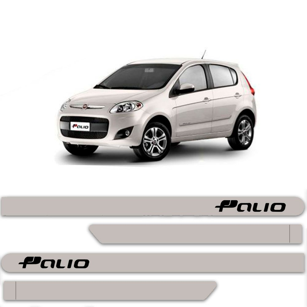 Friso Lateral Personalizado Para Fiat Palio - Todas As Cores