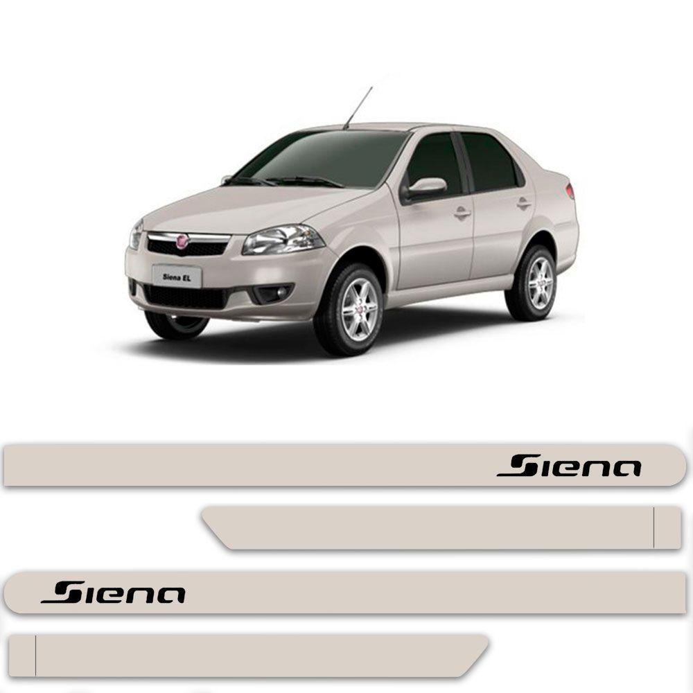 Friso Lateral Personalizado Para Fiat Siena - Todas As Cores