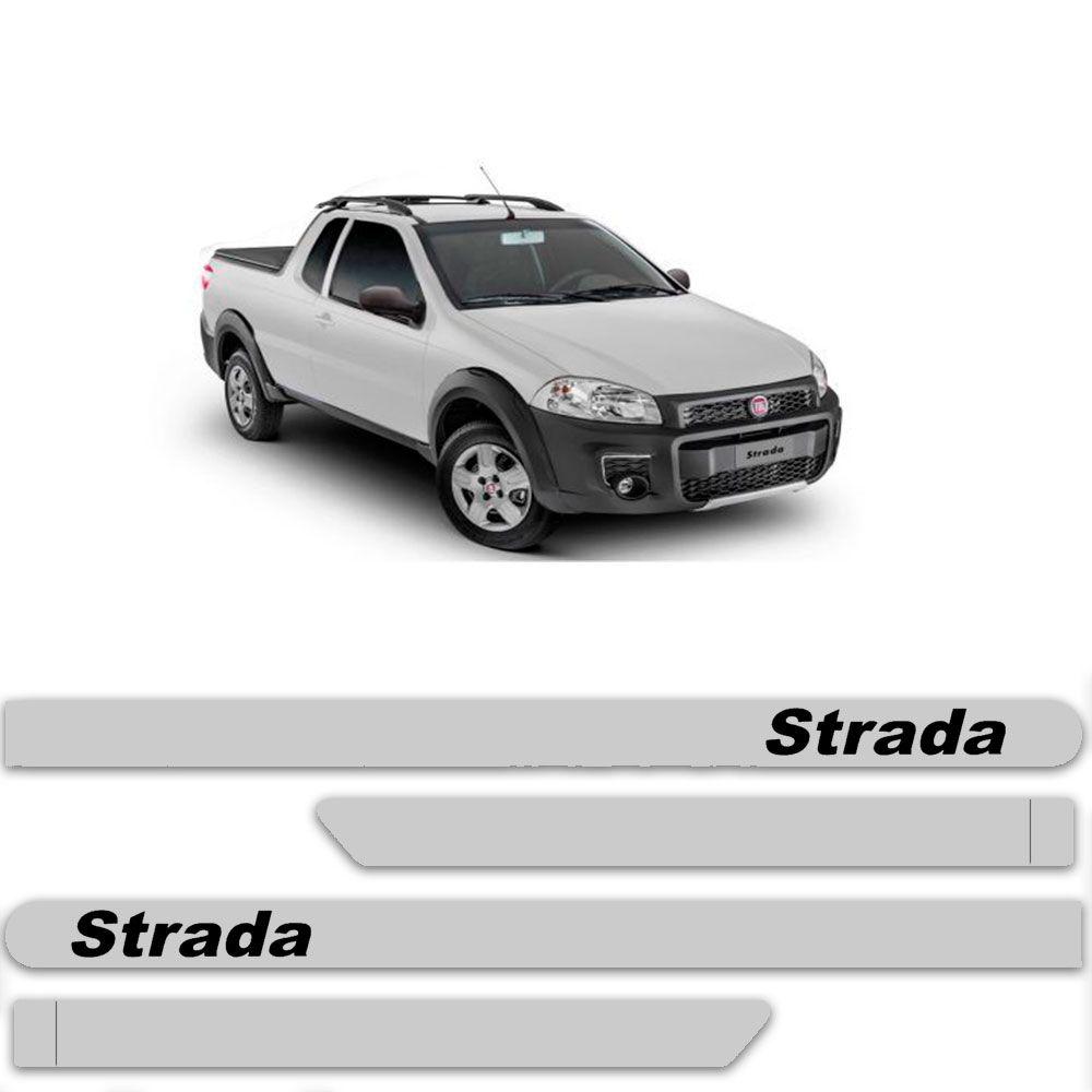 Friso Lateral Personalizado Para Fiat Strada - Todas As Cores