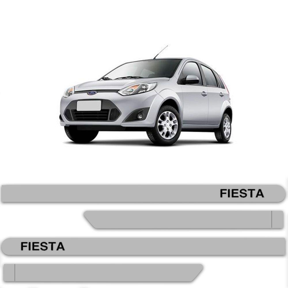 Friso Lateral Personalizado Para Ford Fiesta - Todas As Cores