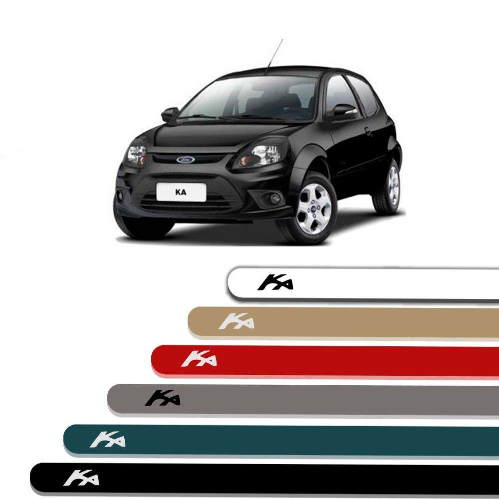 Friso Lateral Personalizado Para Ford Ká - Todas As Cores