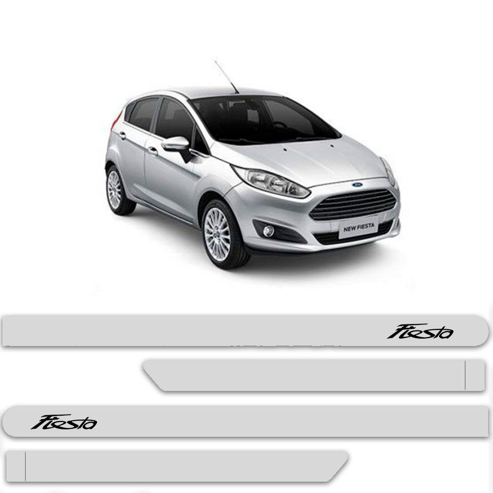 Friso Lateral Personalizado Para Ford New Fiesta - Todas As Cores