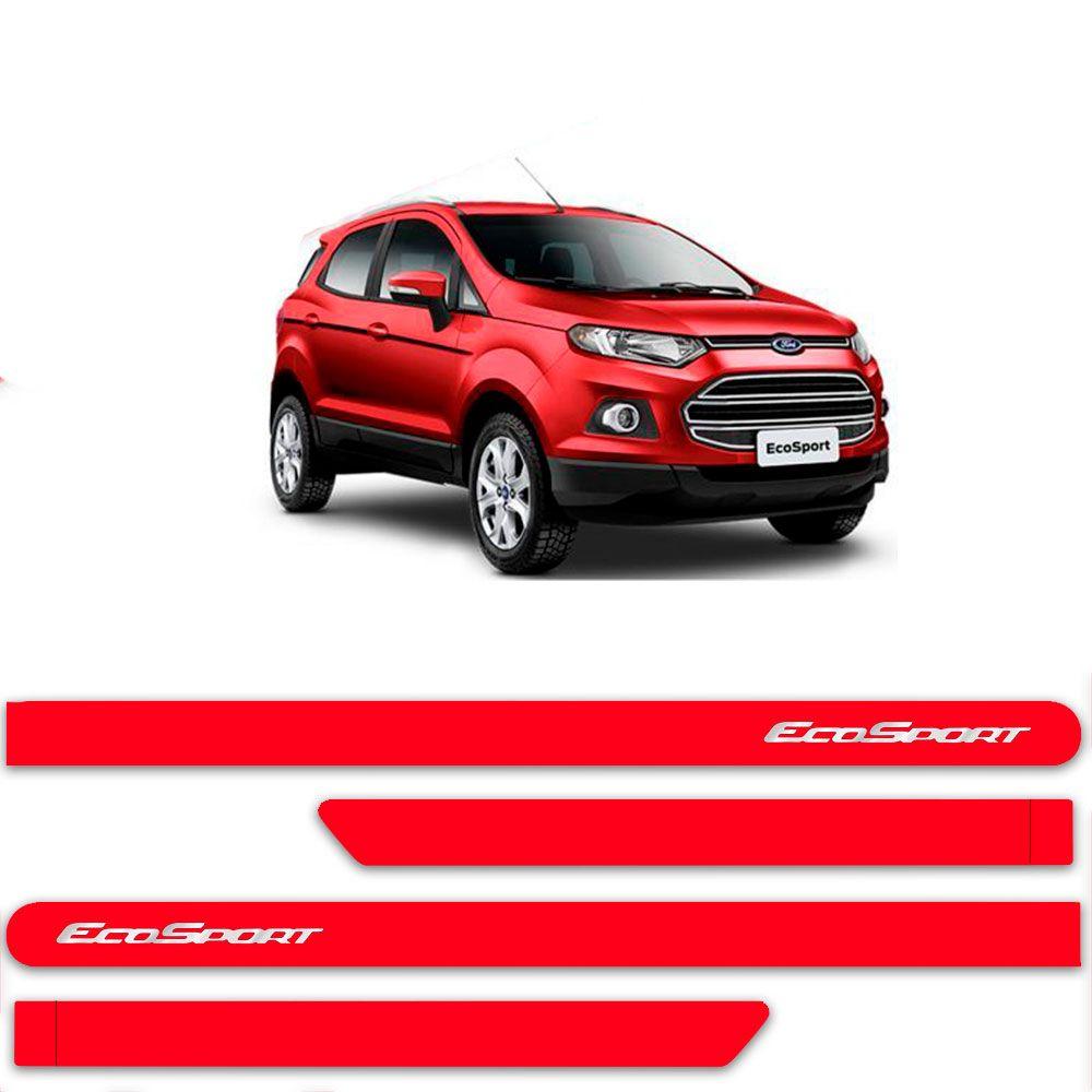 Friso Lateral Personalizado Para Ford Nova EcoSport - Todas As Cores