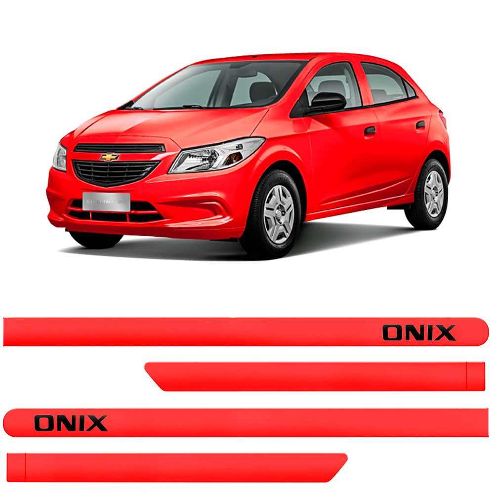 Friso Lateral Personalizado Para GM Onix - Todas as Cores