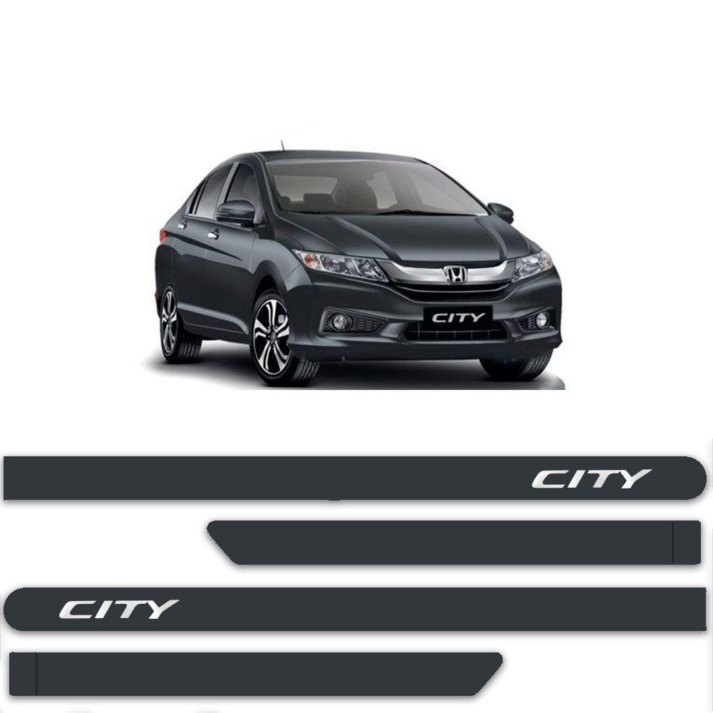 Friso Lateral Personalizado Para  Honda City - Todas As Cores