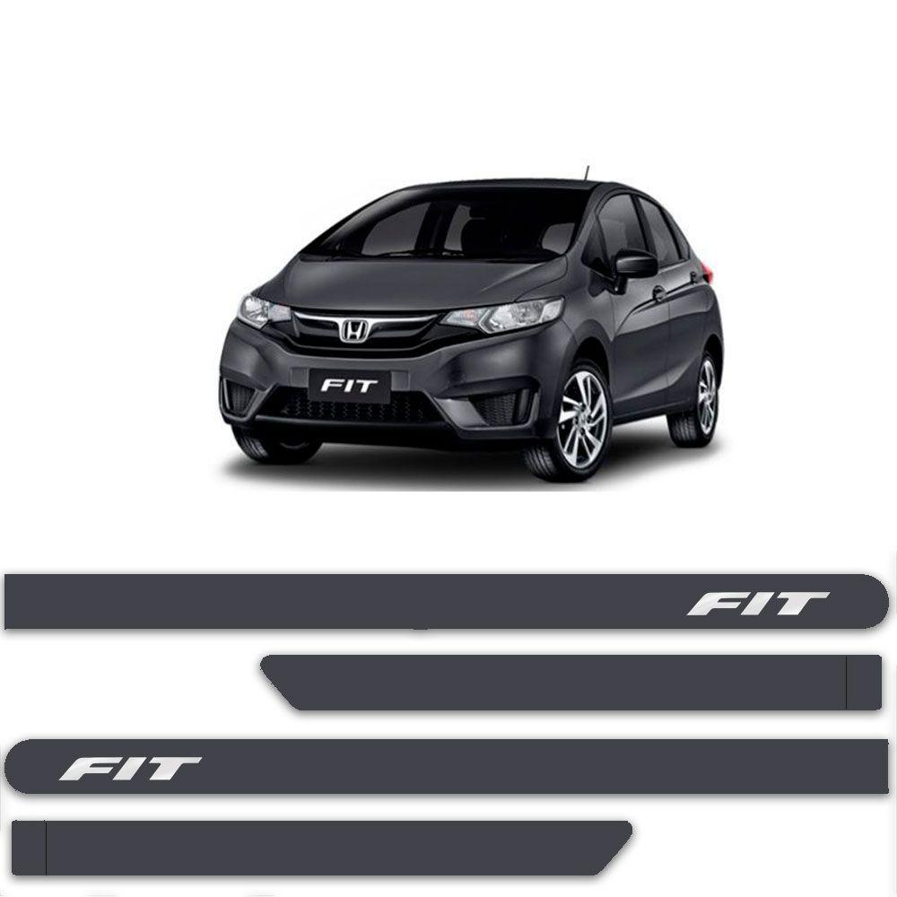 Friso Lateral Personalizado Para  Honda Fit - Todas As Cores