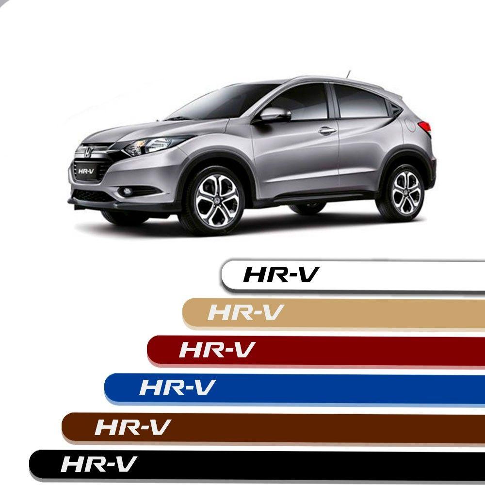 Friso Lateral Personalizado Para Honda HR-V - Todas As Cores