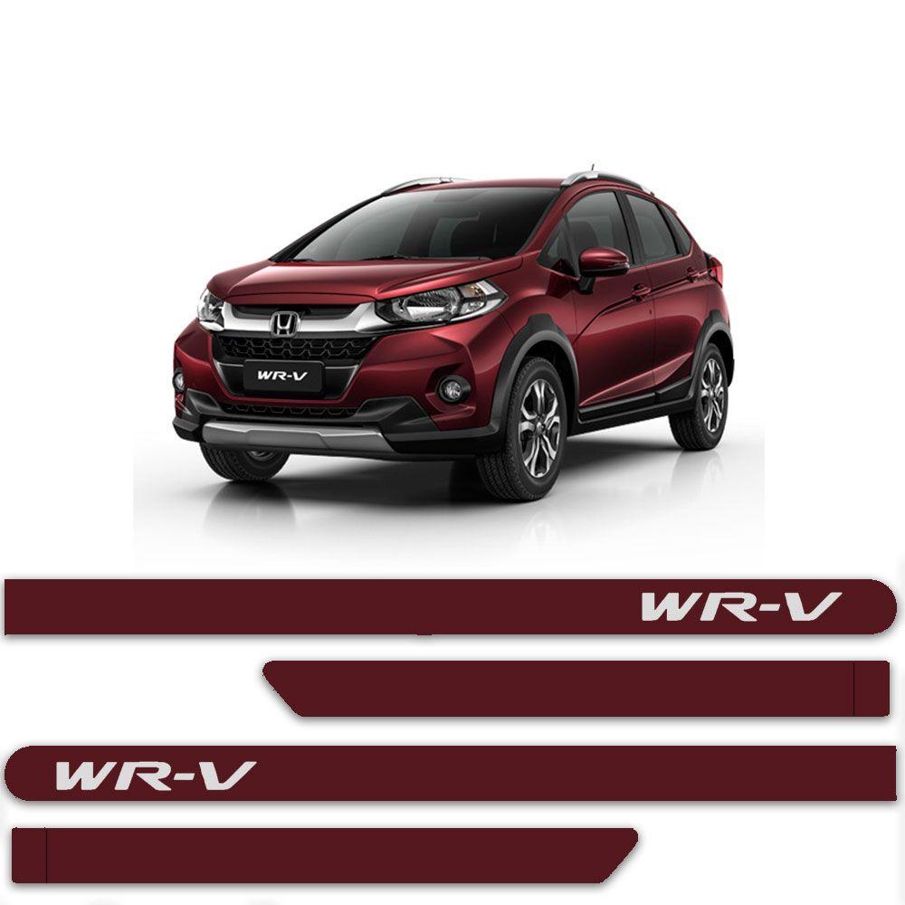 Friso Lateral Personalizado Para  Honda WR-V - Todas As Cores