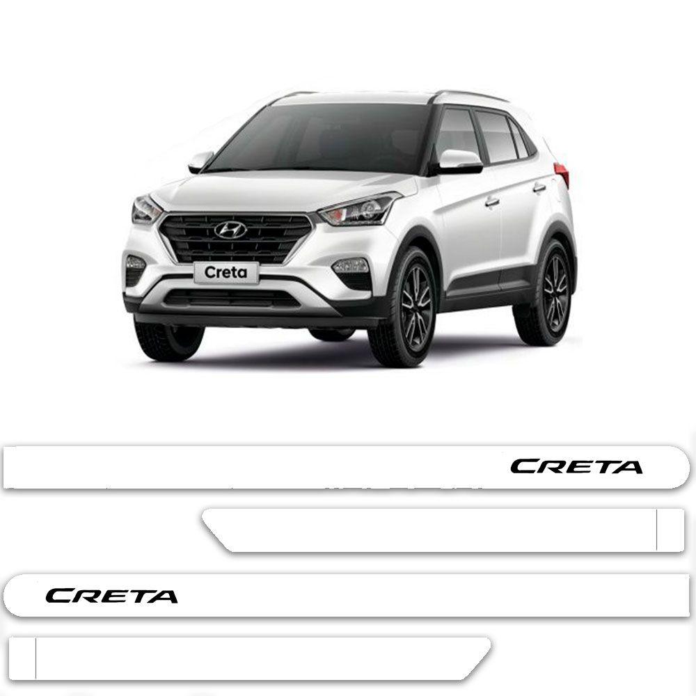 Friso Lateral Personalizado Para Hyundai Creta - Todas As Cores