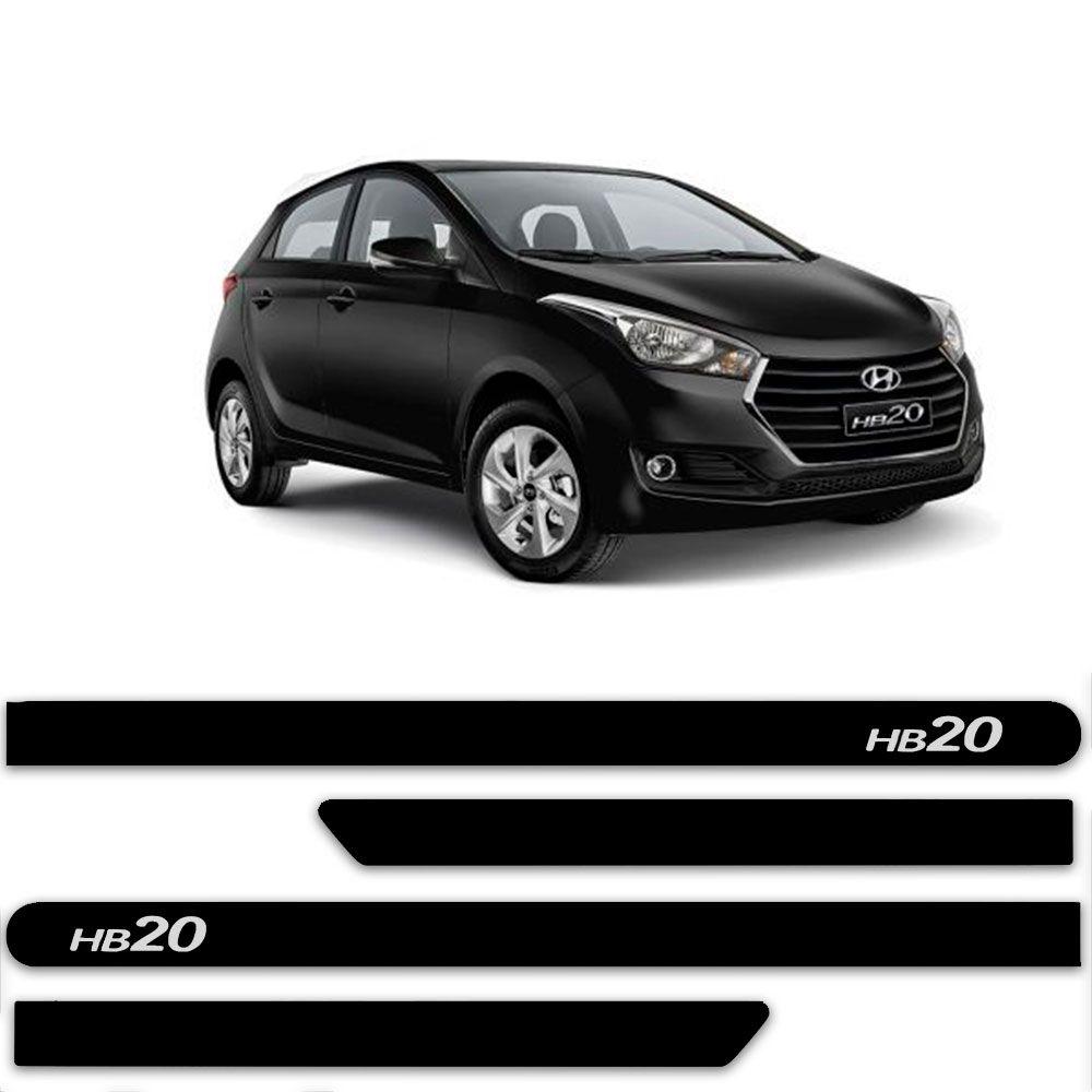 Friso Lateral Personalizado Para Hyundai HB20 - Todas As Cores