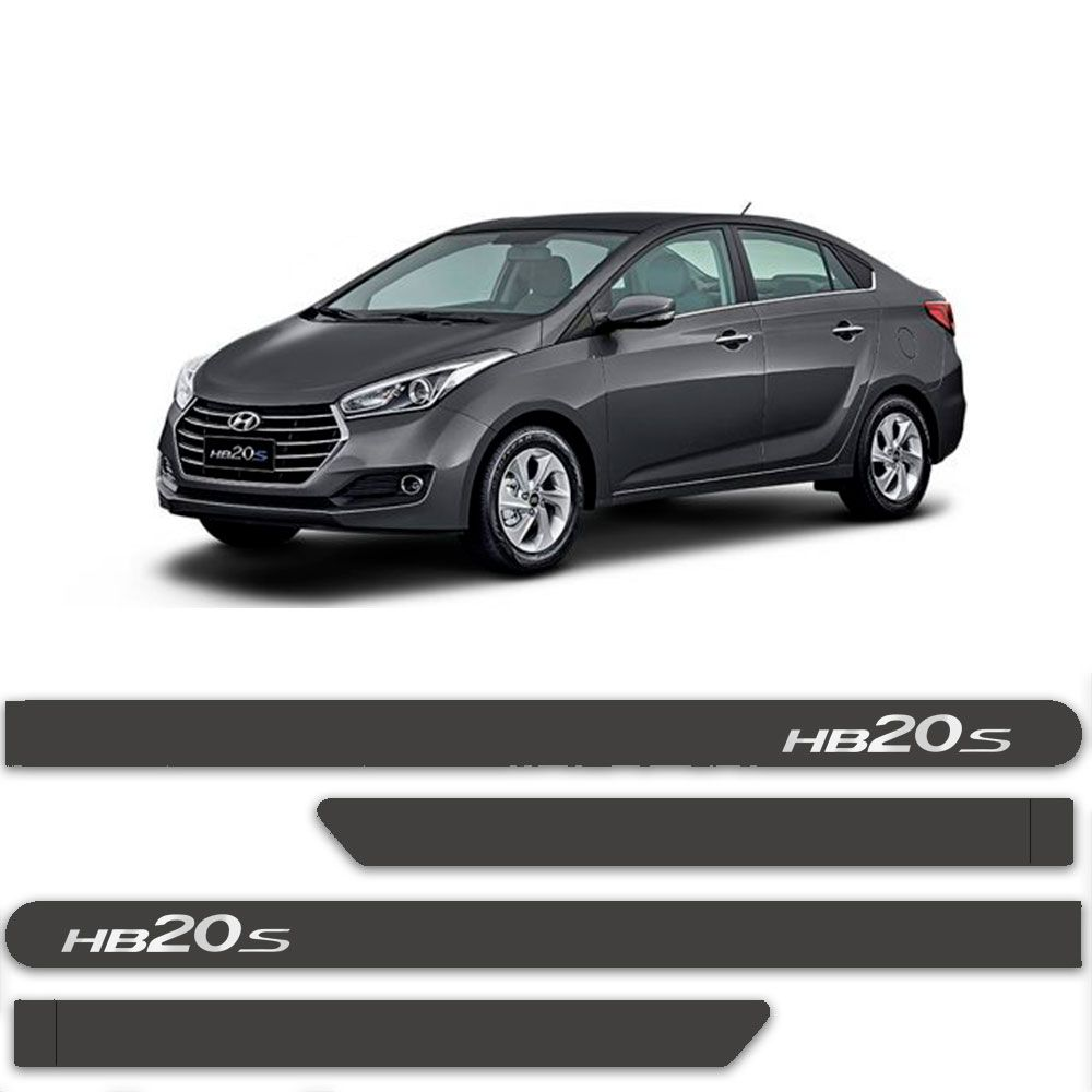Friso Lateral Personalizado Para Hyundai HB20s  Sedan - Todas As Cores