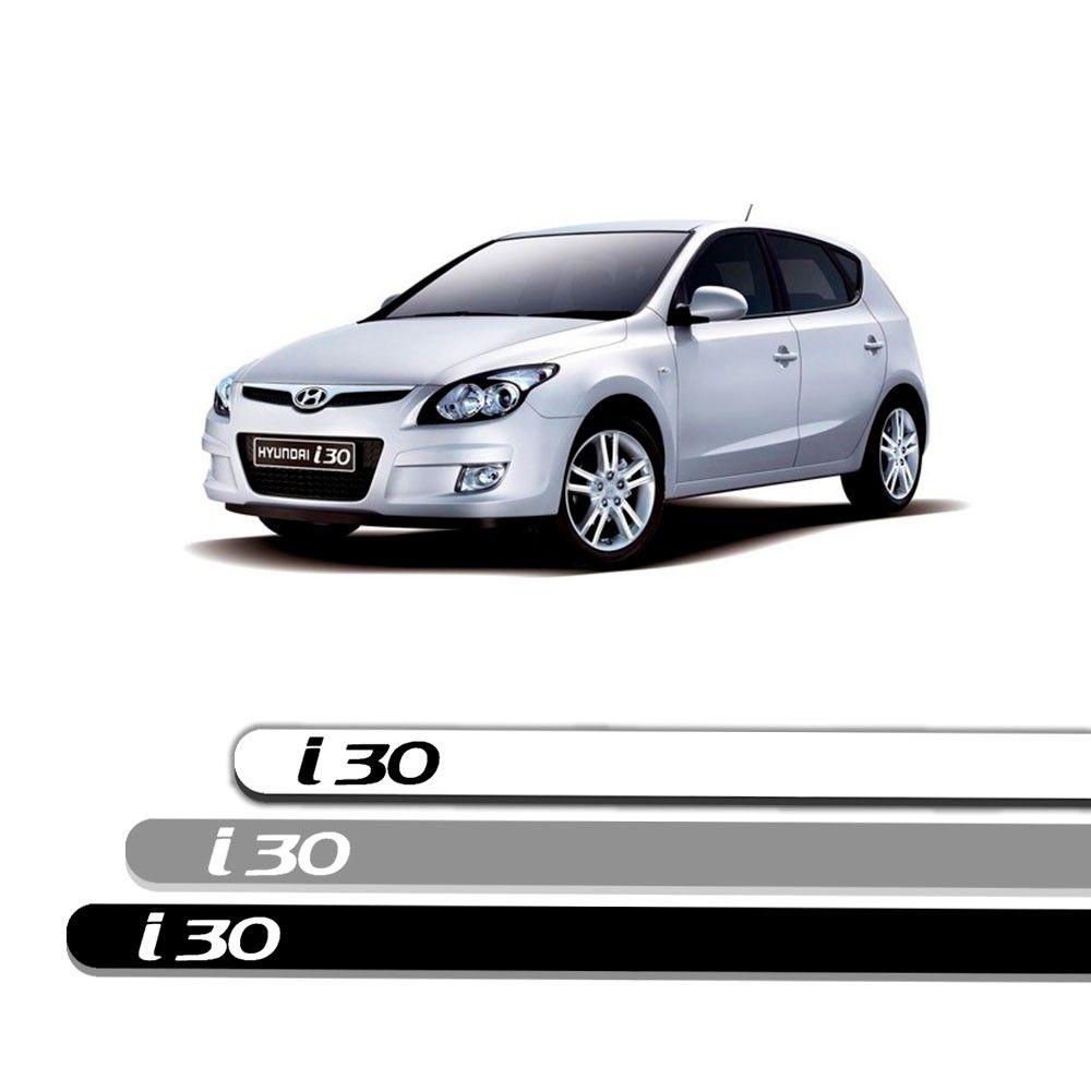 Friso Lateral Personalizado Para Hyundai I30 - Todas As Cores