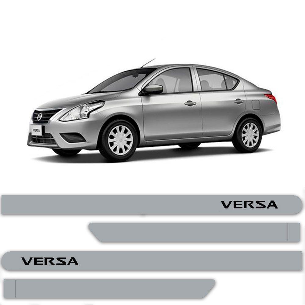 Friso Lateral Personalizado Para Nissan Versa - Todas As Cores