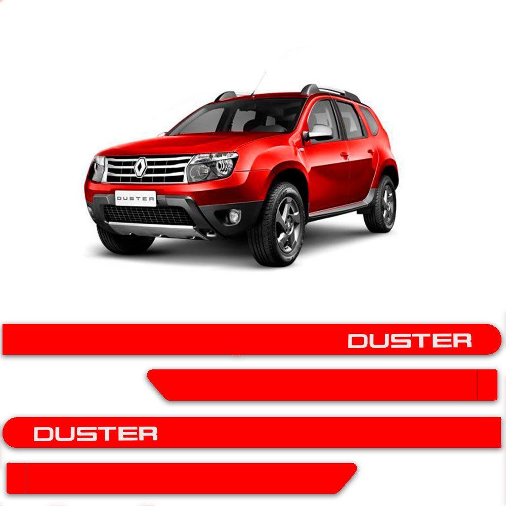 Friso Lateral Personalizado Para Renault Duster - Todas As Cores
