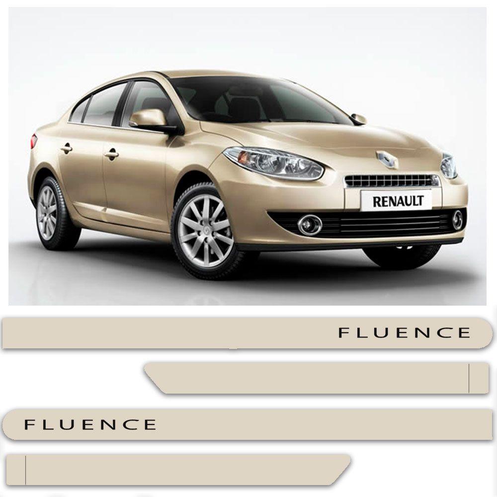Friso Lateral Personalizado Para Renault Fluence - Todas As Cores