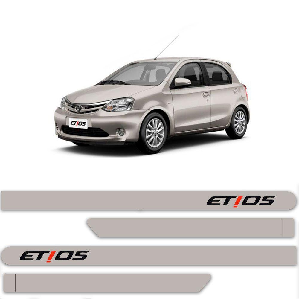 Friso Lateral Personalizado Para Toyota Etios - Todas As Cores
