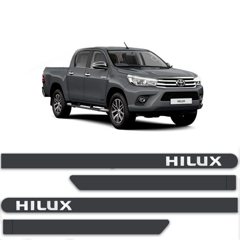 Friso Lateral Personalizado Para Toyota Hilux - Todas As Cores