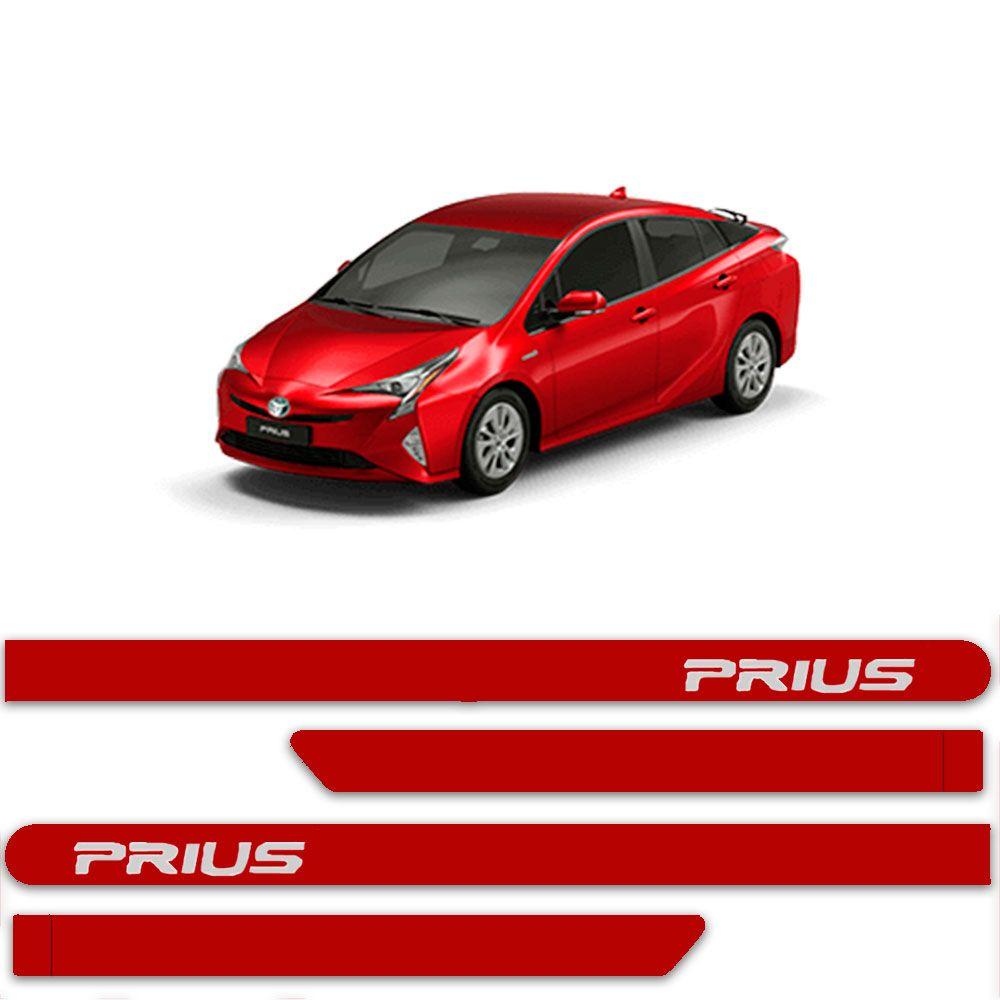 Friso Lateral Personalizado Para Toyota Prius - Todas As Cores