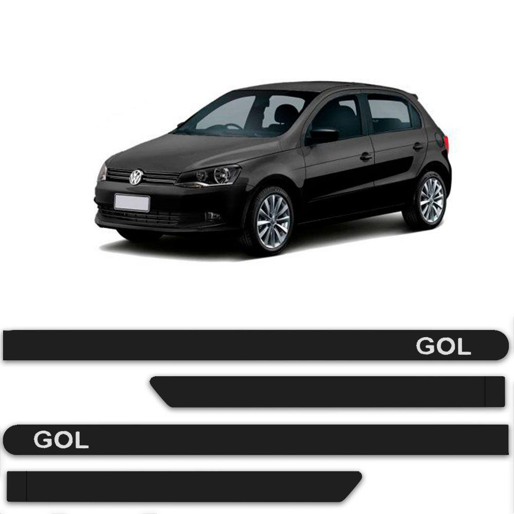 Friso Lateral Personalizado Para Volkswagen Gol G5 - Todas As Cores