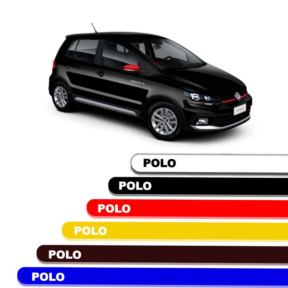 Friso Lateral Personalizado Para  Volkswagen Polo - Todas As Cores
