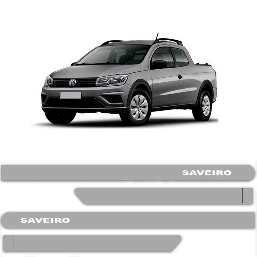 Friso Lateral Personalizado Para  Volkswagen Saveiro - Todas As Cores