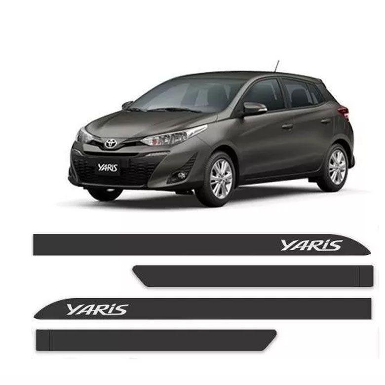 Friso Lateral Personalizado Toyota Yaris - Todas as Cores