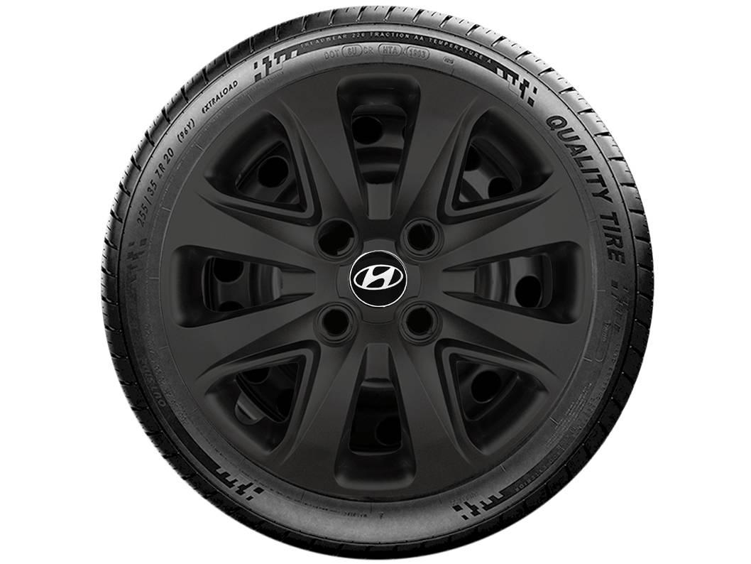 Jogo 4 Calota Esportiva Aro 14 Hyundai HB20 HB20S g340pfj