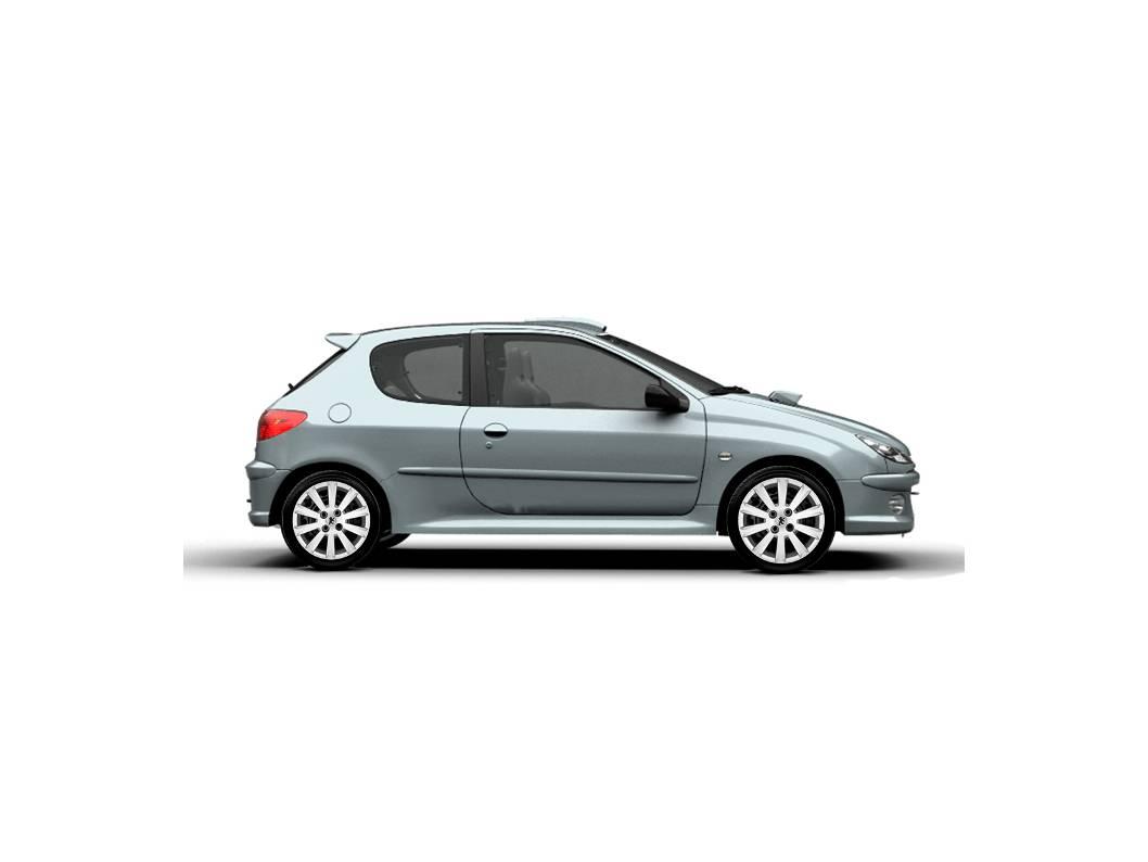 Jogo 4pçs Calota Esportiva Aro 15 Peugeot 206 207 Passion G018j