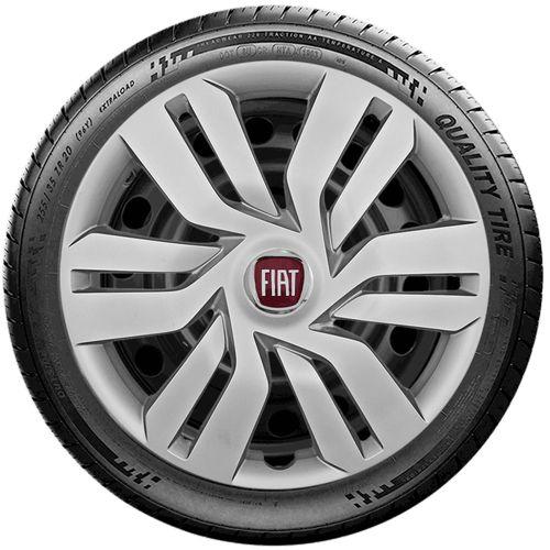 Jogo Calota Esportiva Aro 15 Fiat Palio Siena Punto G120j