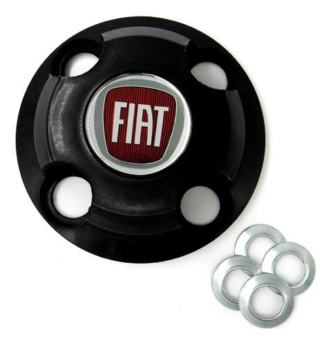 Jogo Calotinhas Centrais Fiat Aro 13 14 15 Uno Palio Punto