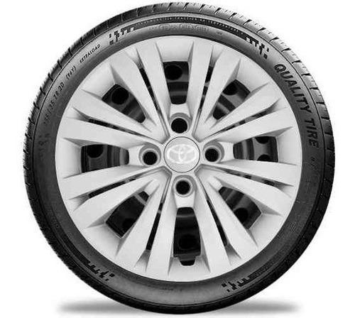 Jogo De Calota Toyota Yaris Aro 15 G246j