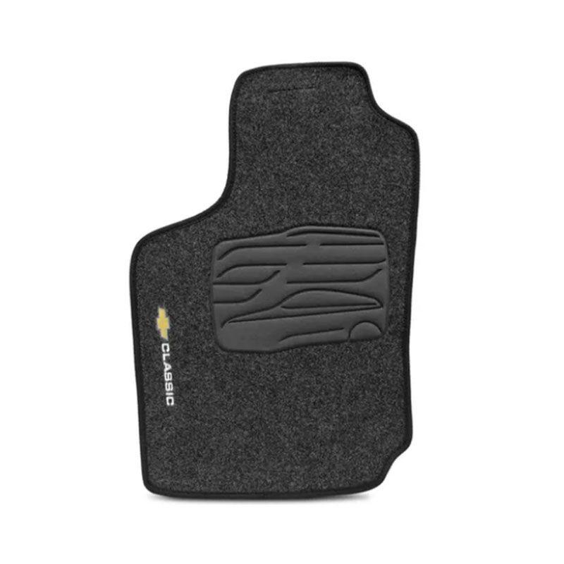 Jogo de Tapete Carpete para Chevrolet Corsa Classic - Grafite -