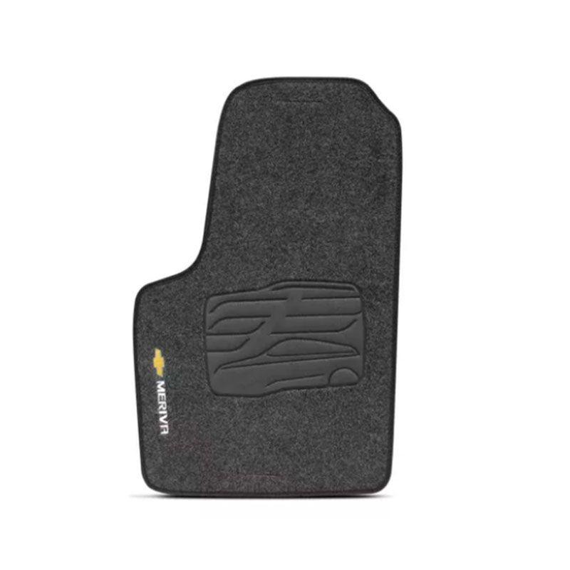 Jogo de Tapete Carpete para Chevrolet Meriva - Grafite -