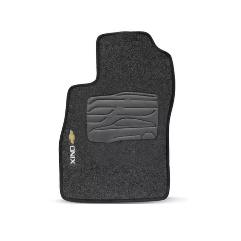 Jogo de Tapete Carpete para Chevrolet Onix 2012 a 2018 - Grafite -