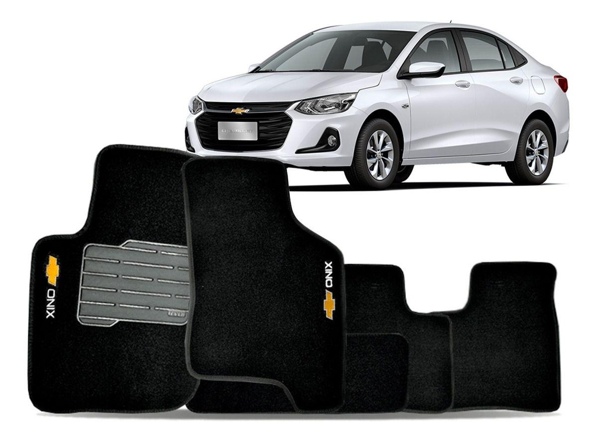 Jogo de Tapete Carpete para Chevrolet Onix Premier Plus